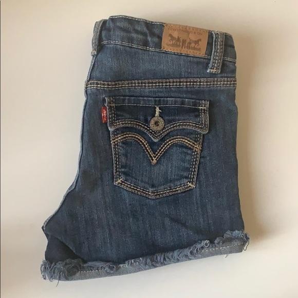 Levi's Pants - Levi's Jean Short Shorts